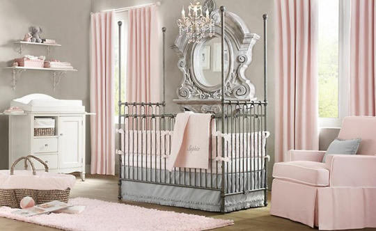 Beauty-Luxury-Girl-Nursery-Ideas-in-Classic-Design-by-Baby-Restoration