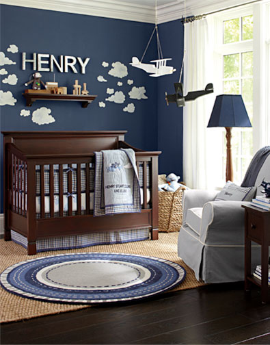 Baby Boy Room Mural Ideas: Decor Ideas For Baby Room