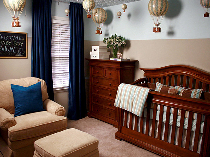 luxurious-baby-boy-nursery