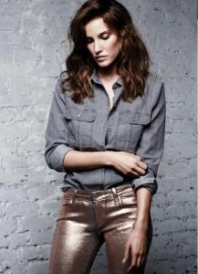 Rose Gold Jeans