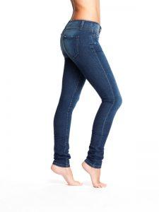 Skinny Denim - worn wash - JY7-002