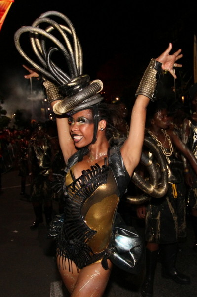 Black Gold Lead Performers 4 - Cape Town Carnival