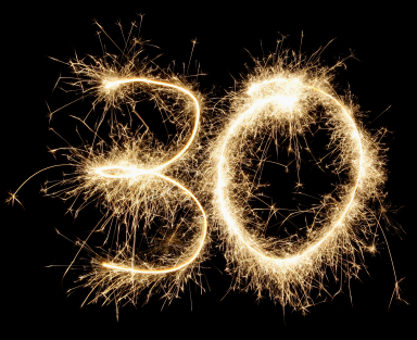 30th-sparklers