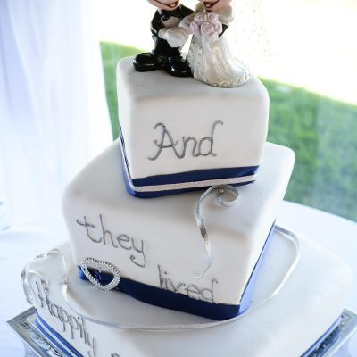 Touches of Blue Elegant Weddding