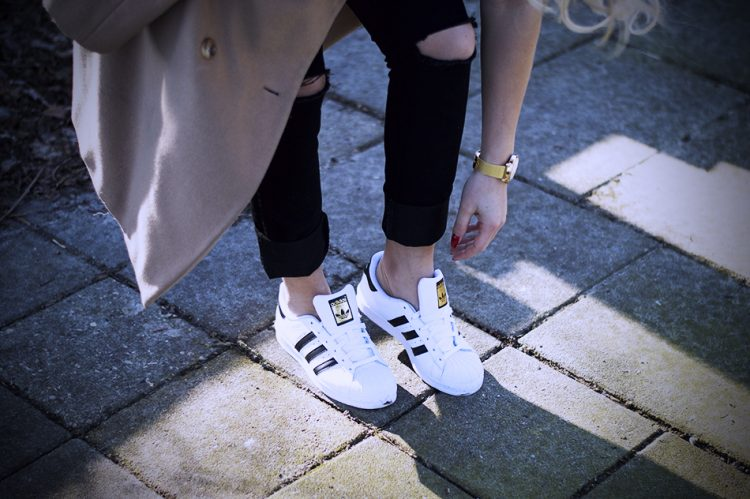 Styling Your Adidas Superstar Sneaks With Anything