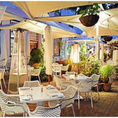 Blanko Restaurant at the Alphen Hotel Review