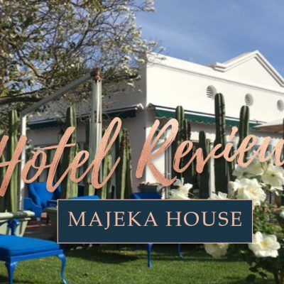 Majeka House – Stellenbosch Luxury Hotel Review