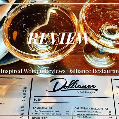 Dalliance Restaurant – New Menu & Revamp